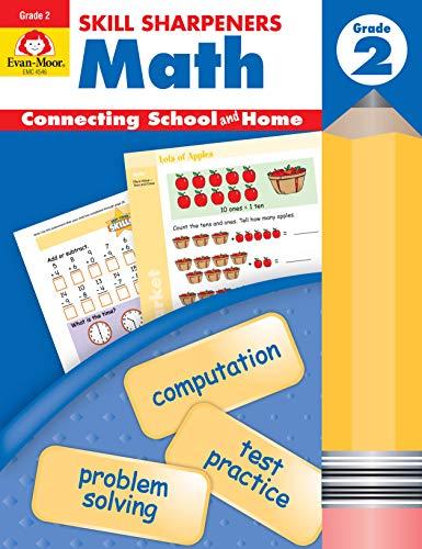 9781596730540: Skill Sharpeners Math, Grade 2