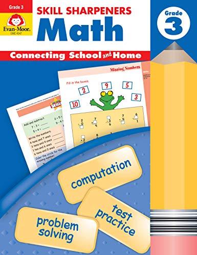 9781596730557: Skill Sharpeners Math, Grade 3