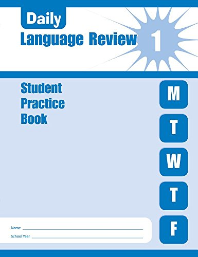 9781596730595: Daily Language Review: Student Practice Books