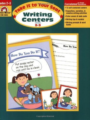9781596730793: Take It to Your Seat Writing Centers, Grades 2-3