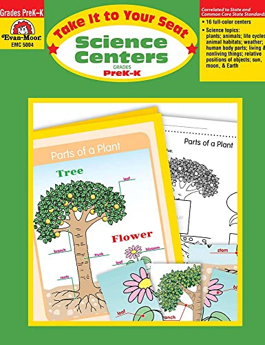 9781596730908: Take It to Your Seat Science Centers, Grades PreK-K