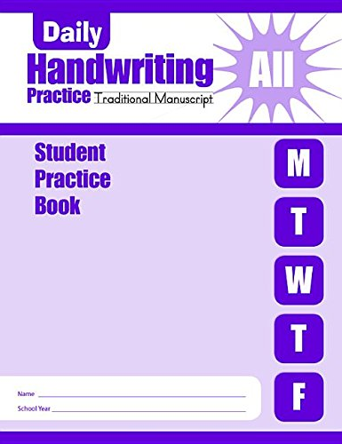 9781596731219: Daily Handwriting Practice: Student Practice Books