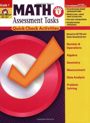 9781596731356: Math Assessment Tasks, Grade 1