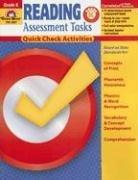 9781596731387: Reading Assessment Tasks, Grade K