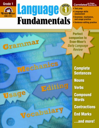 9781596731615: Language Fundamentals, Grade 1