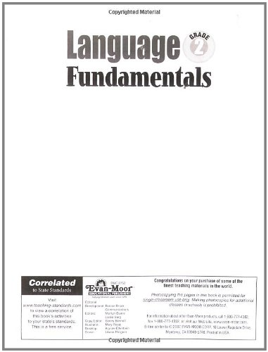 Language Fundamentals, Grade 2
