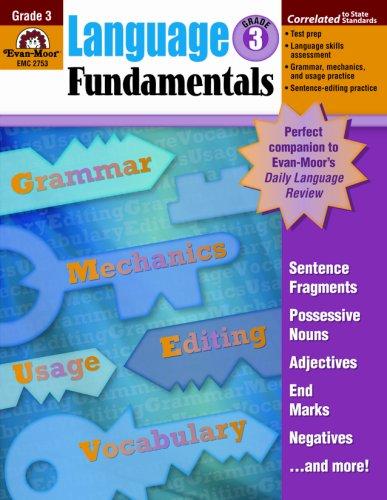 9781596731639: Language Fundamentals, Grade 3