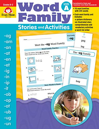 9781596731677: Word Family Stories & Activities, Level A