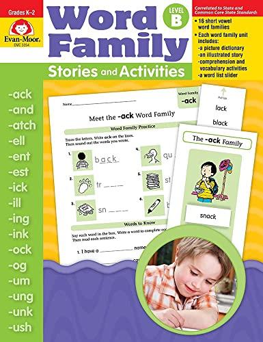 Word Family Stories & Activities, Level B: Evan Moor