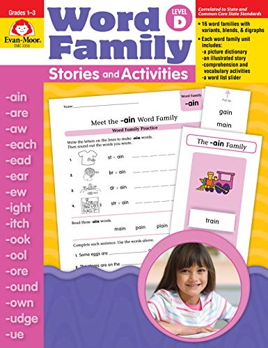 9781596731707: Word Family Stories and Activities, Level D