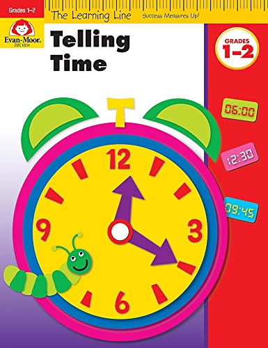 Telling Time (Learning Line): Evan-Moor Educational Publishers