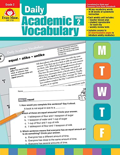 9781596732018: Daily Academic Vocabulary Grade 2 [With Transparencies]