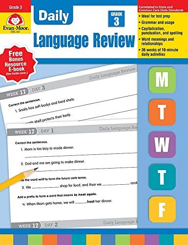 Daily Language Review Grade 3 (EMC 581 - 2004 Edition): Evan Moor