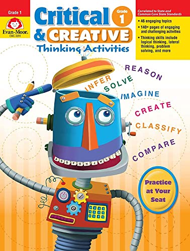 9781596732926: Critical & Creative Thinking Activities, Grade 1