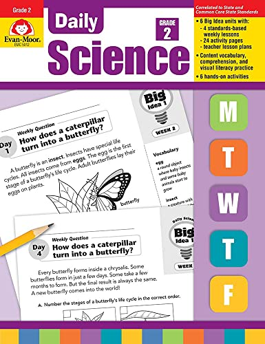 9781596734203: Evan-Moor Daily Science Teacher's Edition for Grade 2 - 30 Weeks of Instruction of Classroom Inquiry-based Science Activities