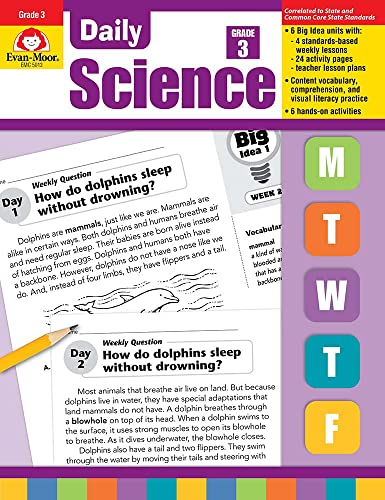 9781596734210: Daily Science, Grade 3 (Daily Practice Books)