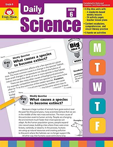 Daily Science, Grade 6 (Daily Practice Books): Evan Moor