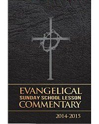 9781596848108: Evangelical Sunday School Lesson Commentary 2014-2015