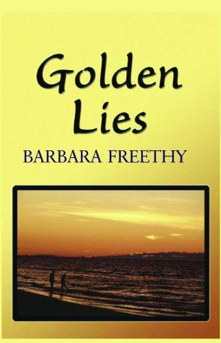 9781596880054: Golden Lies (Large Print) (Romances)