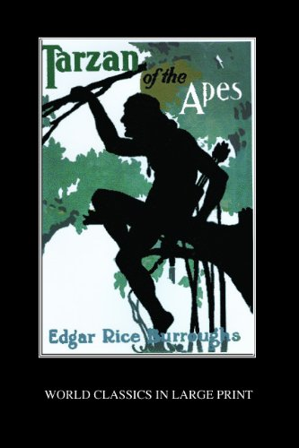 9781596880153: Tarzan Of The Apes (World Classics in Large Print: American Authors)