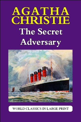 The Secret Adversary (World Classics in Large Print) (British Authors Series): Agatha Christie