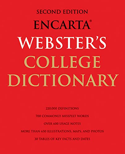 9781596910850: Encarta Webster's College Dictionary: 2nd Edition