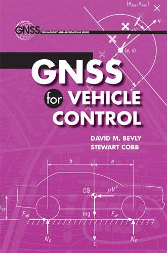 9781596933019: Gnss for Vehicle Control (GNSS Technology and Applications)