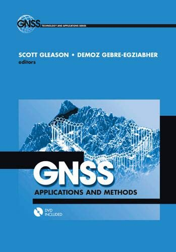 9781596933293: GNSS Applications and Methods [With DVD] (GNSS Technology and Applications)
