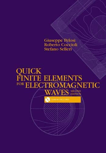 9781596933453: Quick Finite Elements for Electromagnetic Waves (Artech House Electromagnetic Analysis)