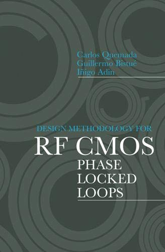 9781596933835: Design Methodology for RF CMOS Phase Locked Loops