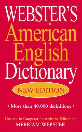 9781596950023: Webster's American English Dictionary