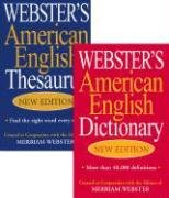 9781596950054: Webster's American English Thesaurus & Webster's American English Dictionary Set