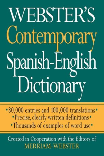 9781596950559: Webster's Contemporary Spanish-English Dictionary (Spanish Edition) (Spanish and English Edition)