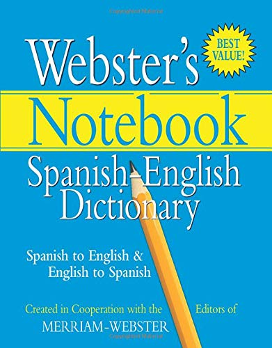 9781596950580: Webster's Notebook Spanish-English Dictionary (Spanish Edition)