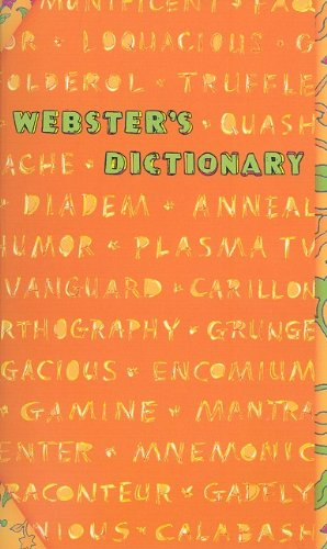9781596950603: Webster's Dictionary (Orange Words)