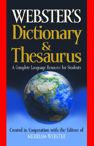 9781596950856: Webster's Dictionary & Thesaurus