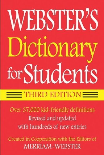 9781596950931: Webster's Dictionary for Students, Third Edition