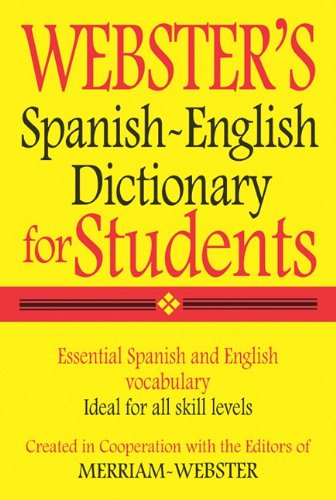 9781596950962: Webster's Spanish-English Dictionary for Students (Spanish Edition)