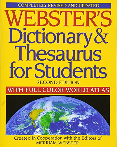 Webster's Dictionary & Thesaurus for Students, Second Edition (1596951079) by Merriam-Webster