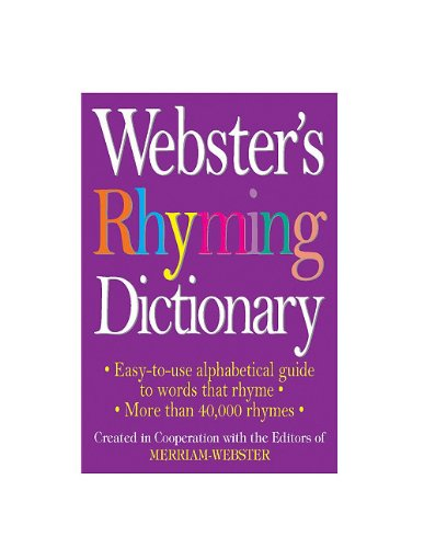 9781596951129: Webster's Rhyming Dictionary