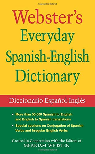 Webster's Everyday Spanish-English Dictionary (Spanish Edition): Merriam-Webster