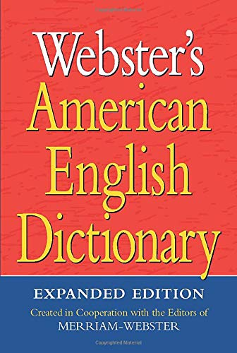 9781596951549: Webster's American English Dictionary, Expanded Edition