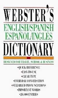 9781596951587: Webster's Spanish-English Dictionary