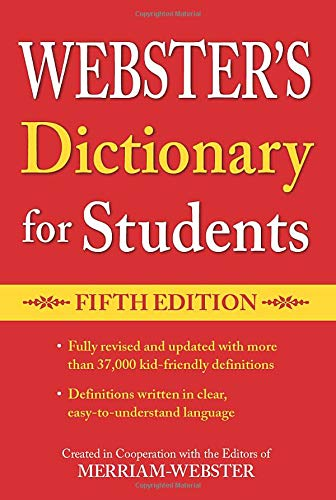 9781596951679: Webster's Dictionary for Students, Fifth Edition