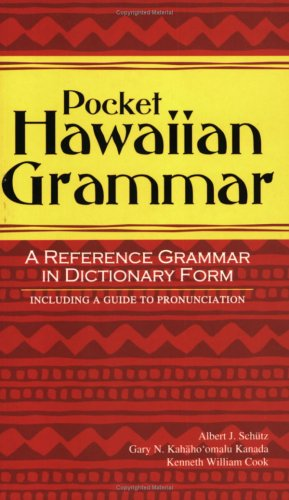 9781597001762: Pocket Hawaiian Grammar
