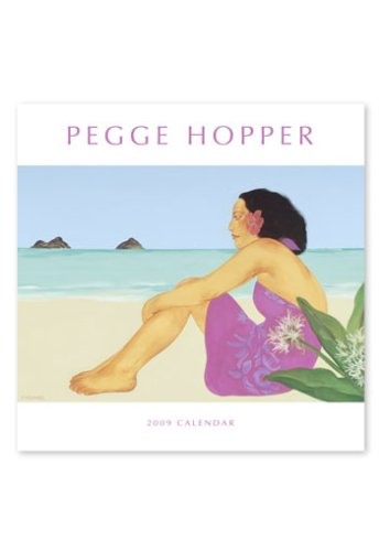9781597005425: Pegge Hopper 2009 12 Month Deluxe Calendar
