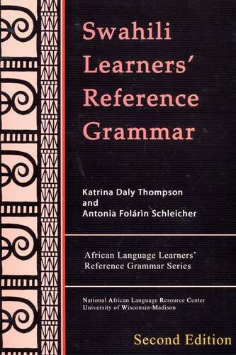 9781597030076: Swahili Learners' Reference Grammar
