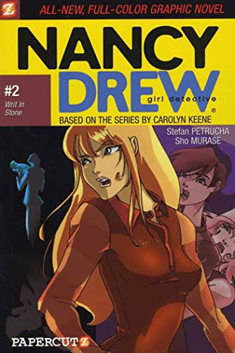 9781597070027: Writ in Stone (Nancy Drew Graphic Novels: Girl Detective #2)
