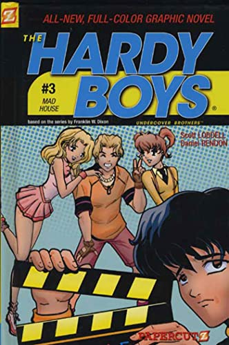 Mad House (Hardy Boys Graphic Novels: Undercover Brothers, No. 3) (1597070106) by Scott Lobdell