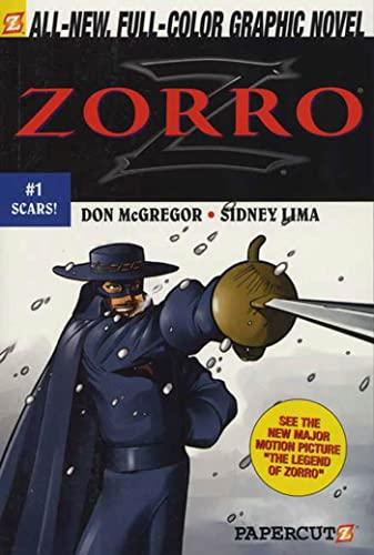 9781597070164: Zorro #1: Scars! (Zorro Papercutz Graphic Novels)